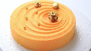 видео Шоколадно - апельсиновый чизкейк