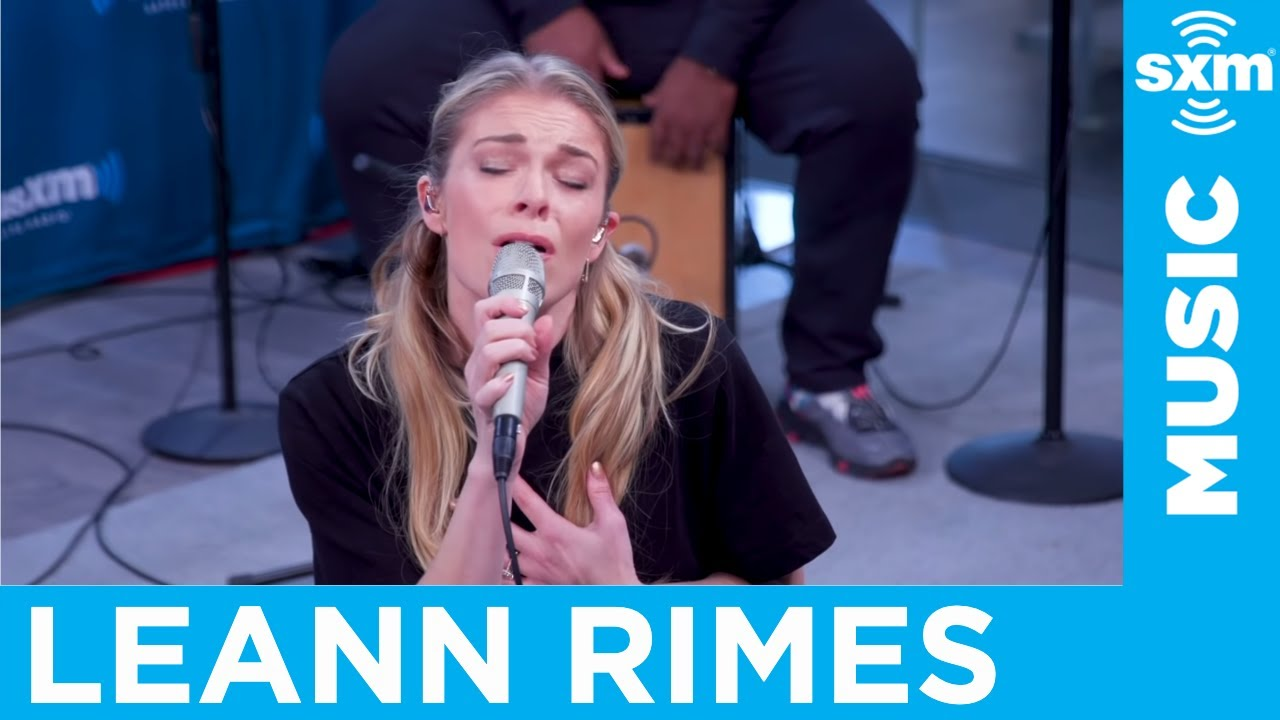 Leann Rimes Secret Garden Bruce Springsteen Cover Live Siriusxm Youtube