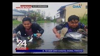 24 Oras: Pagiging masiyahin ng mga Pinoy, lumalabas kahit pa sa panahon ng kalamidad