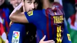 vuclip أهداف مباراة برشلونة 5 - 0 اتلتيكو مدريد | Barcelona 5 - 0 A . Madrid