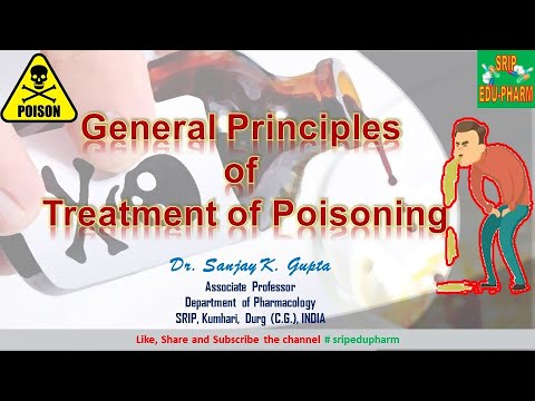 Poisoning (General principles of treatment )