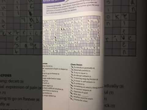 Crossword 1 4