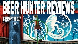 BEER HUNTER REVIEWS MAGIC HAT SNOW ROLLER 10/25/14 HOPPY BROWN ALE