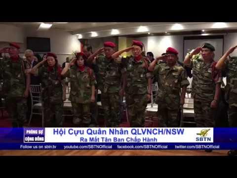 PHÓNG SỰ CỘNG ĐỒNG: Ra mắt tân ban chấp hành Hội Cựu Quân Nhân tại New South Wales - Úc Châu