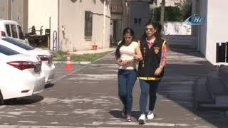 Kahramanmaraş dahil 20 ilde hırsızlık yapan kadınları yakaladı