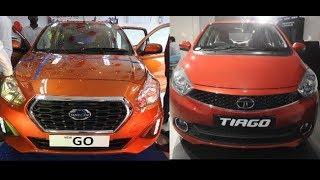 Datsun Go Vs Tata Tiago WalkAround 2018