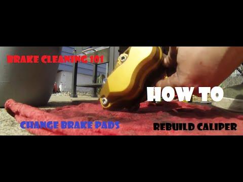 Motorcycle Brake 101: Bleeding, caliper cleaning and rebuild