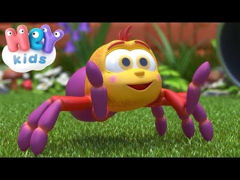 Incy Wincy Spider cantec + karaoke