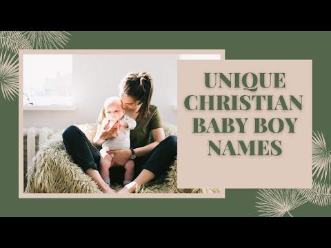 Top Unique Christian Baby Boy Names | Unique Christian Baby Names | English Names for Baby Boys|