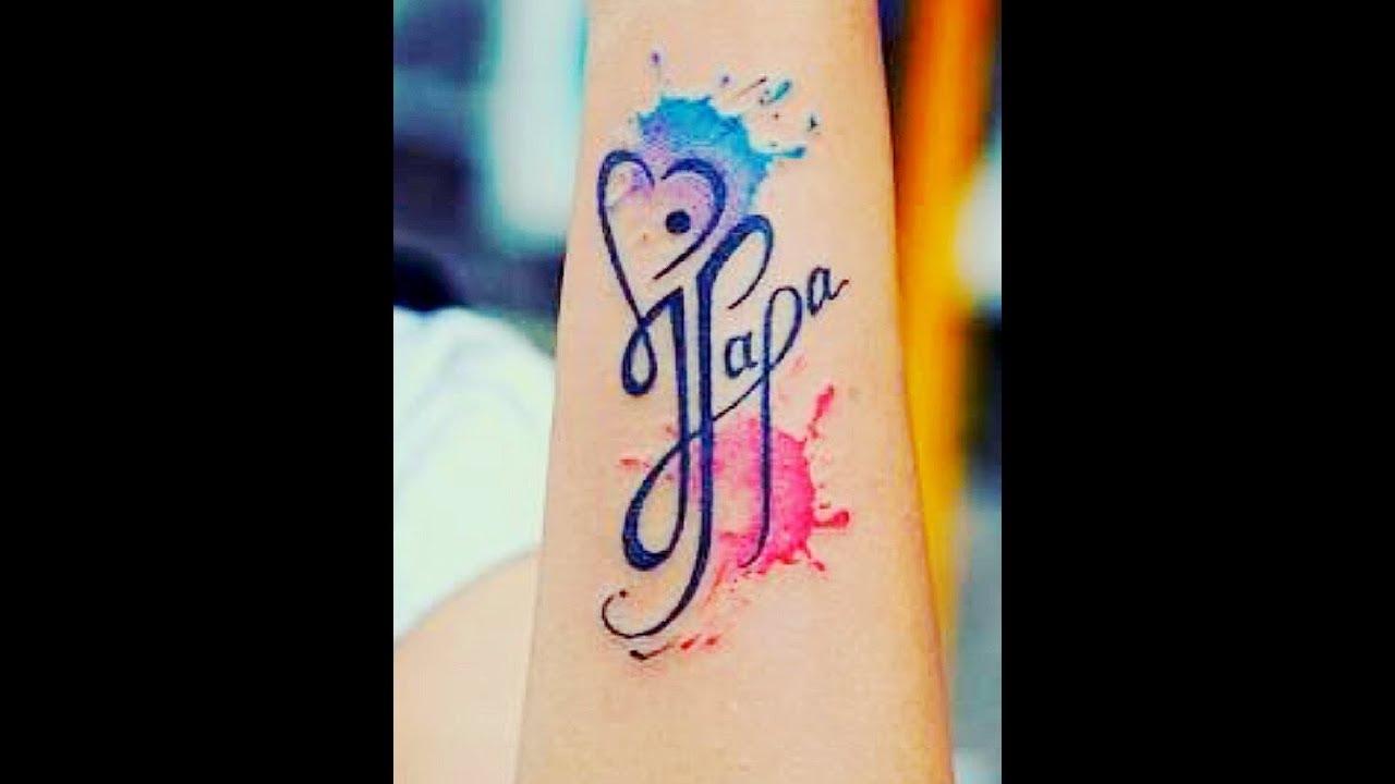 How To Make Maa Papa Tattoo Tattoo King Youtube