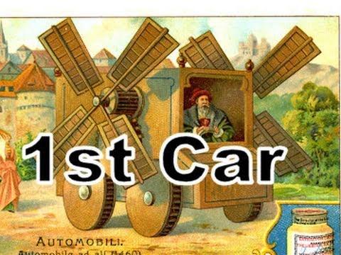 Oldest Car In The World? 1460 Windmill Fardier de Cugnot ...