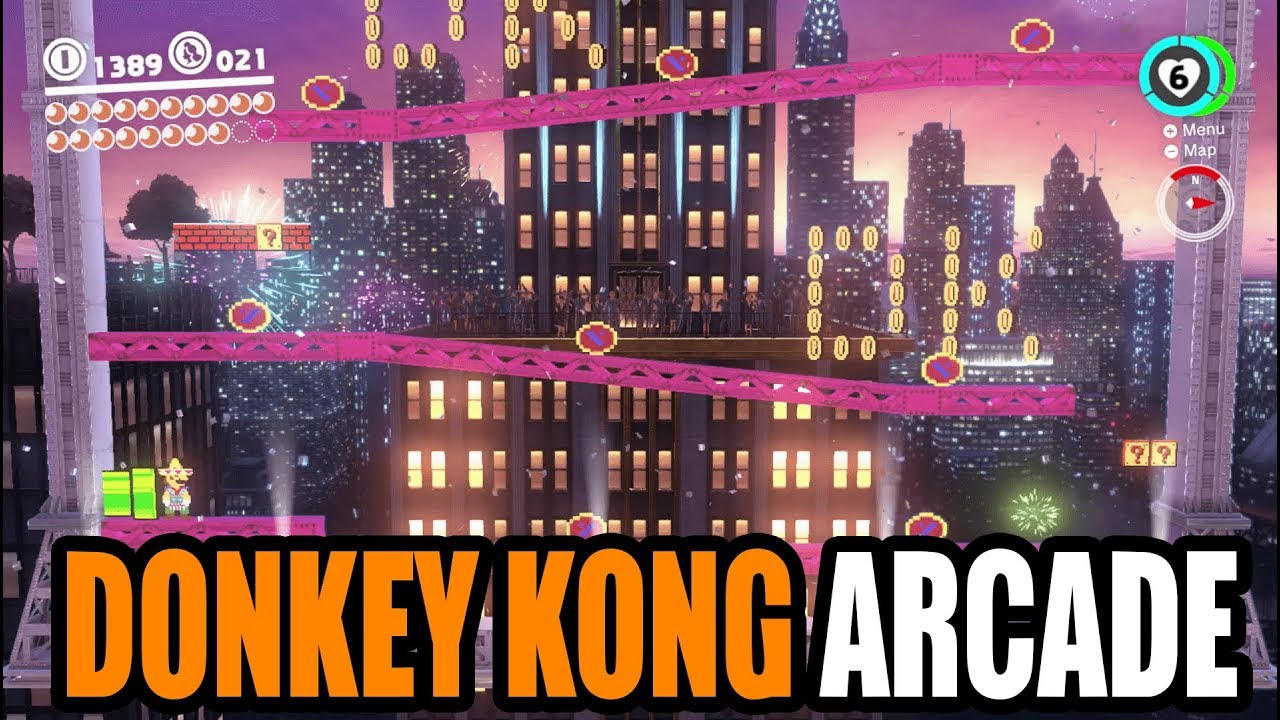 Super Mario Odyssey New Donk City Easter Egg