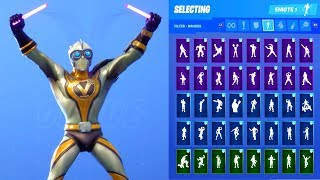 VENTURION SKIN SHOWCASE WITH ALL FORTNITE DANCES & EMOTES