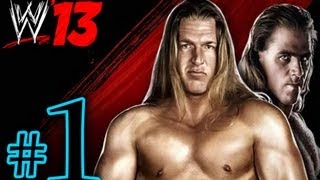 WWE 13 Attitude Era - DX Walkthrough Playthrough Part 1 HD