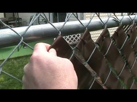 Fence Weave Privacy Fence Inserts