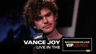 """Vance Joy talks about being on Tinder, Touring and """"Fire In The Flood"""""""