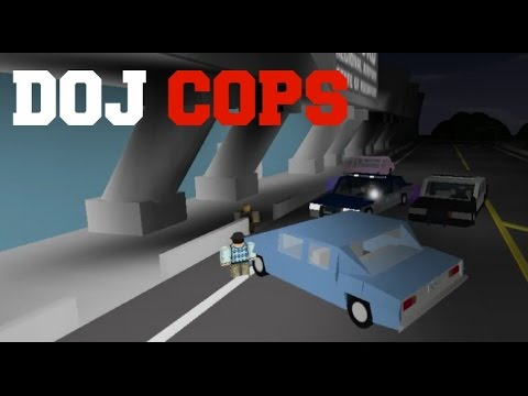 ROBLOX DOJ Cops #6 - Donut Bribery! (Law Enforcement)