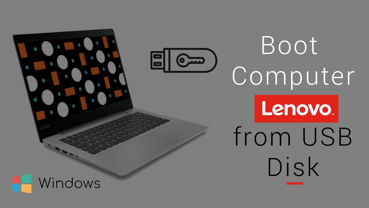 How to Boot My Computer Lenovo from USB in UEFI BIOS | iSumsoft