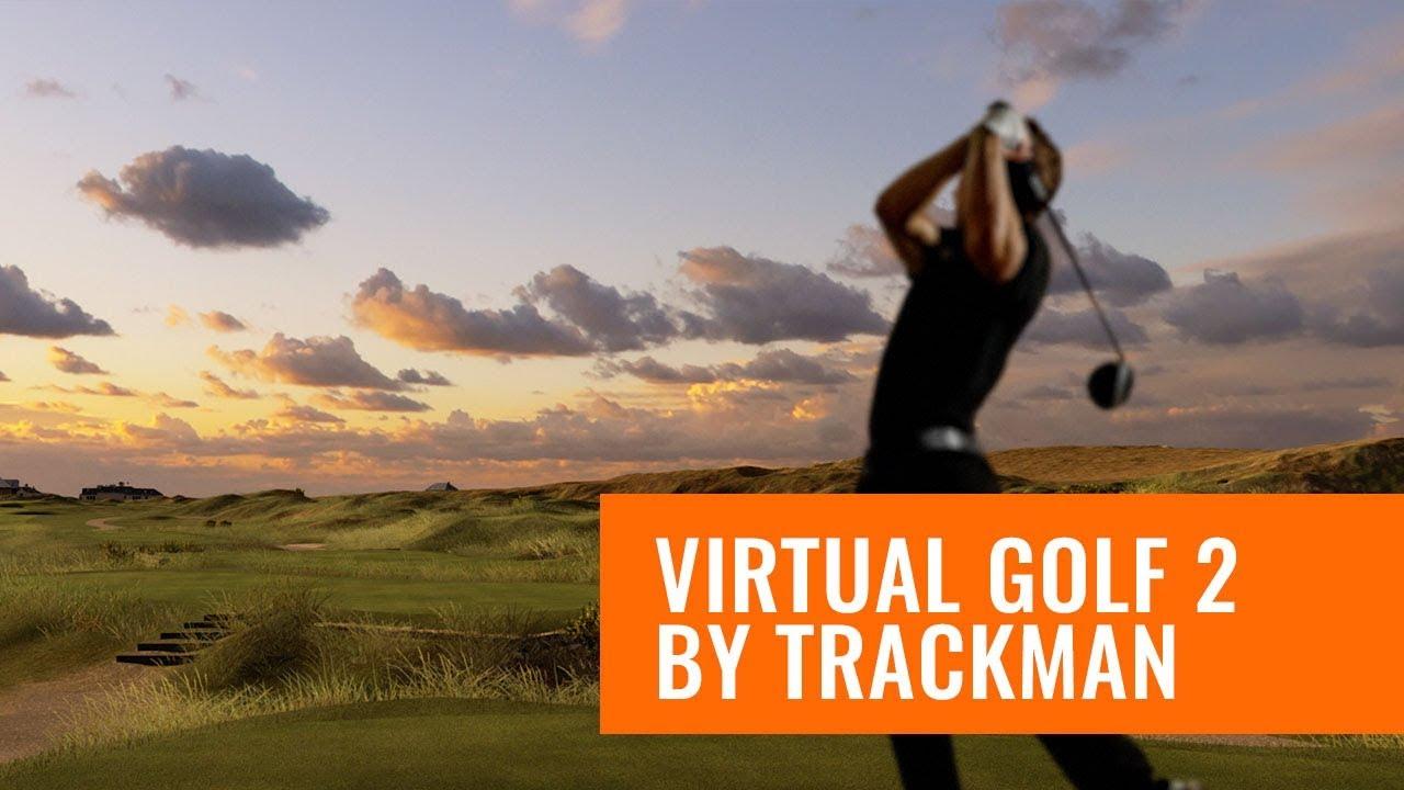 TrackMan Virtual Golf 2