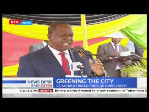 Greening Kenya Initiative launched in Nairobi