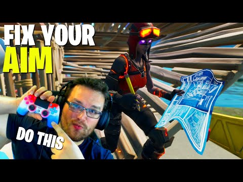 IMPROVE YOUR FORTNITE CONTROLLER AIM *Fortnite Controller Tips*