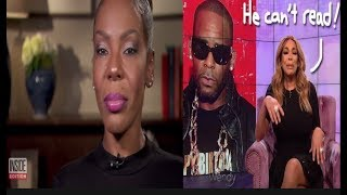 Andrea Kelly Calls R Kelly a Monster+ Wendy Williams backs off her support of R. Kelly