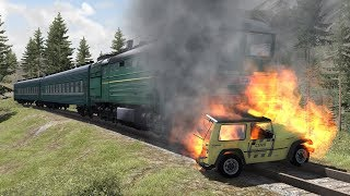 Train Accidents | BeamNG.drive