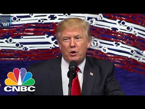 Thumbnail: President Donald Trump: We Are In 'Very Good Shape' For Tax Reform | Closing Bell | CNBC