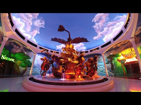 3 Theme Parks to Ourselves, Motiongate, Legoland Dubai & Bollywood Parks, Dubai Parks & Resorts 2017