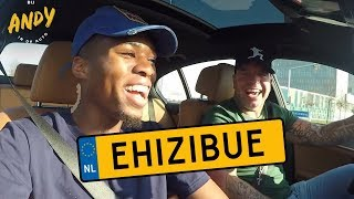 Kingsley Ehizibue - Bij Andy in de auto