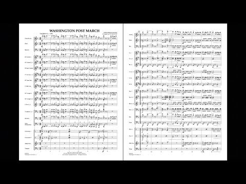 Washington Post March by John Philip Sousa/arr. by Jay Bocook