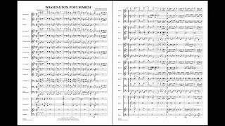 Washington Post March by John Philip Sousa arr by