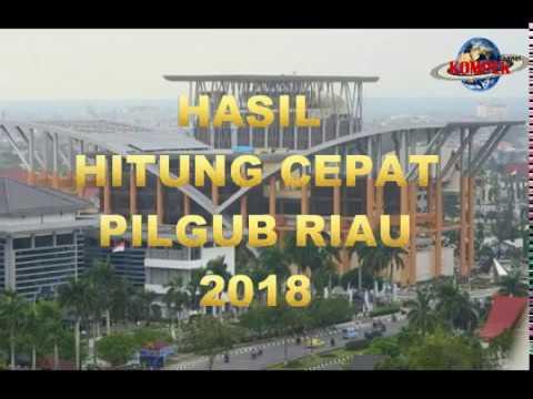 HASIL SEMENTARA PILGUB RIAU 2018