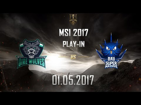 [01.05.2017] DW vs SUP [MSI 2017][Play-in]