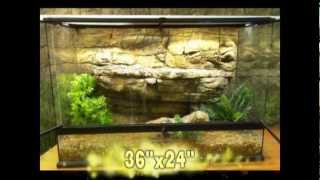 3D Backgrounds for Exo Terra Terrariums and Reptile Enclosures