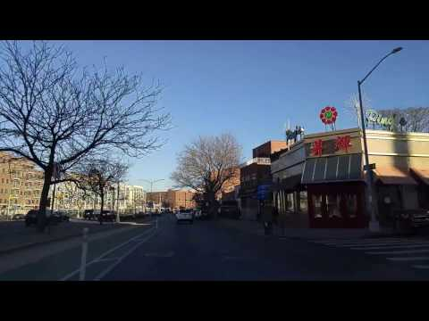 Driving from Sunnyside to Ridgewood Queens,New York