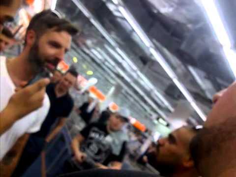 10.09.2012 - NARKOSE - FLASHMOB mit Nazar in Berlin ( Massiv,KingKhalil,Beirut,Clixoom,D-Bo )