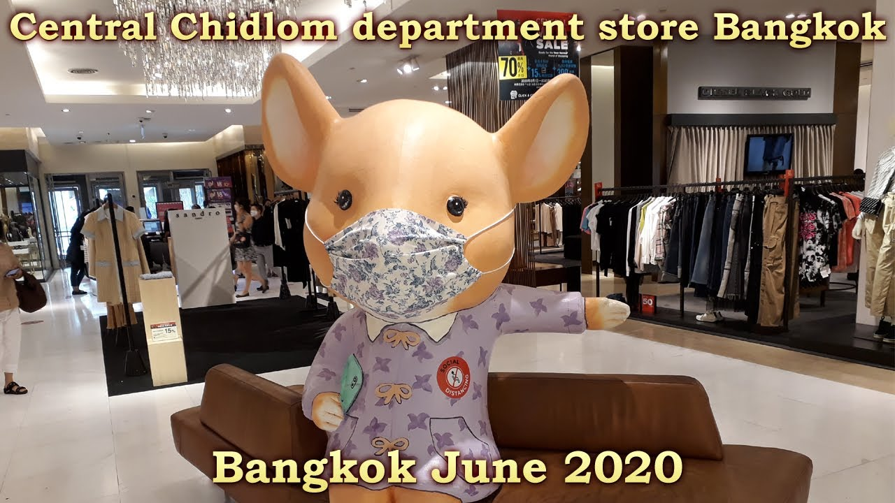 Central Chidlom department store Bangkok good shopping in Bangkok - lifestyle trends and food