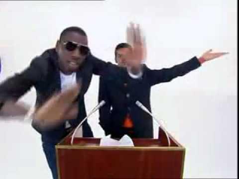Jamel debbouze et Omar SY La présidentielle 2012 MADE IN JAMEL
