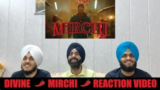 DIVINE - MIRCHI Feat. Stylo G, MC Altaf & Phenom (REACTION VIDEO BY SINGH BROTHERS)