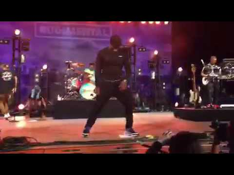 """BEANIE - DRUMMER OF 'RUDIMENTAL' - """"Give You Up"""" LIVE FESTIVAL PHONE CLIP"""