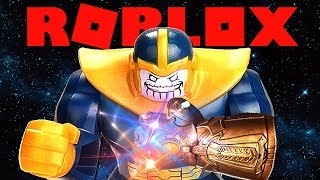 THANOS IN ROBLOX !!