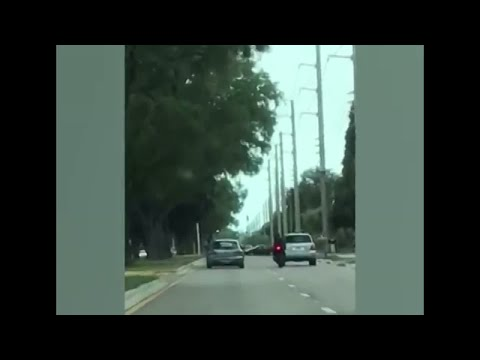 WATCH: Road rage caught on camera, search underway for driver