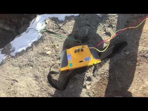 Earth Rod Resistance Testing  Fluke 1654B