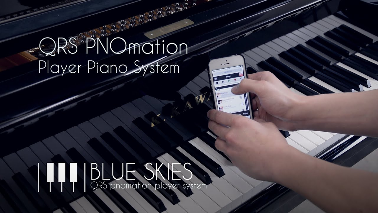 QRS PNOmation III Player Piano System Demo [Blue Skies]