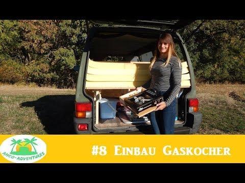 VW T4 Bundeswehrbus Umbau zum Camper _ Einbau Gaskocher #8 - AnCo-Adventures