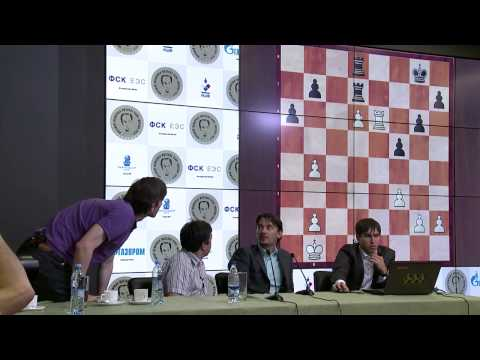 Round 1. Press-conference with Alexander Morozevich and Dmitri Andreikin