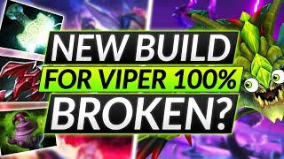 NEW BROKEN BUILD iฑ 7.29D - INSANE VIPER OFFLANE Strategy - Dota 2 Guide