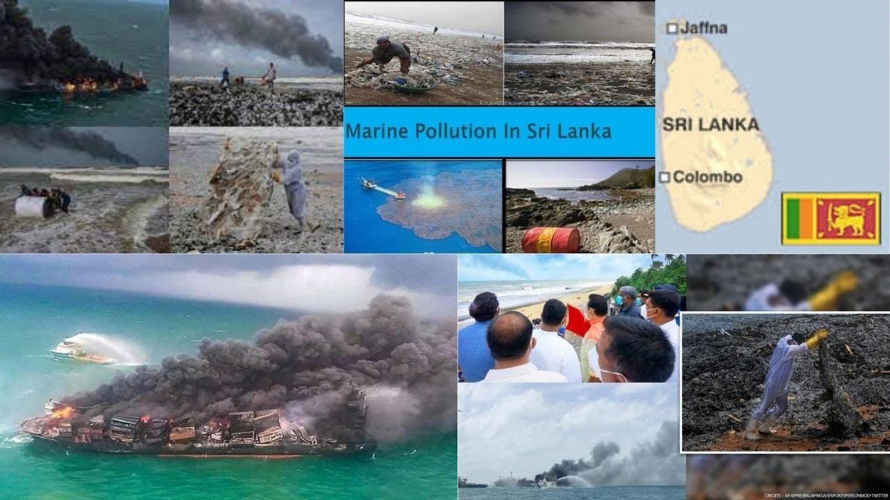 Sri Lanka faces 'worst-ever beach pollution' from burning ship, pics surface