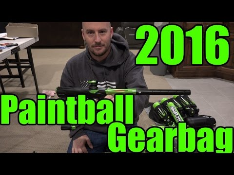 2016 Paintball Gear Bag w Bereghost